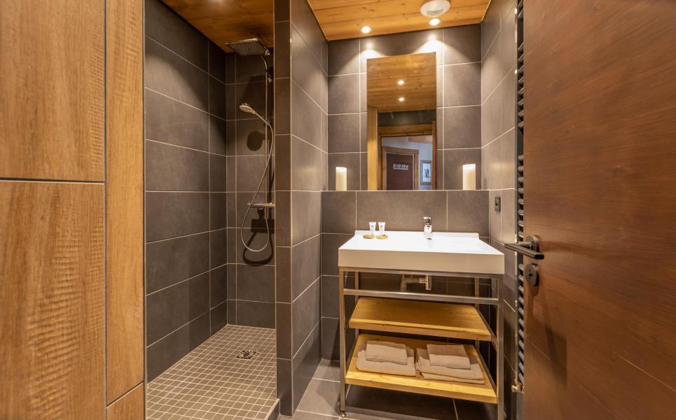 Alquiler al esquí Chalet Altitude - Val Thorens - Cuarto de baño con ducha