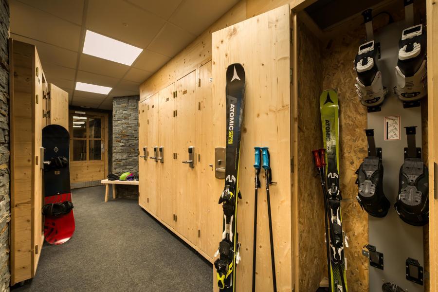 Skiverleih Chalet Altitude - Val Thorens - Skiaufbewahrungsfach