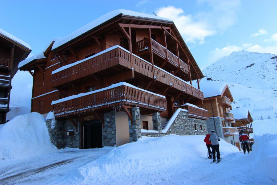Location au ski Chalet Bouquetin - Val Thorens - Extérieur hiver