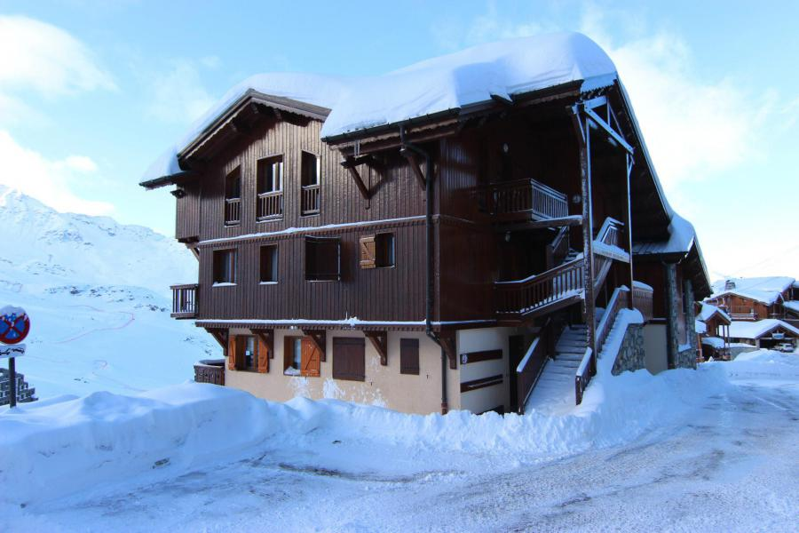 Holiday in mountain resort Chalet Emeraude - Val Thorens - Winter outside
