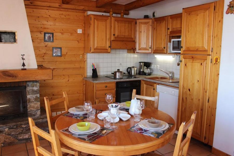 Location au ski Appartement 2 pièces 5 personnes (4) - Chalet Emeraude - Val Thorens - Canapé