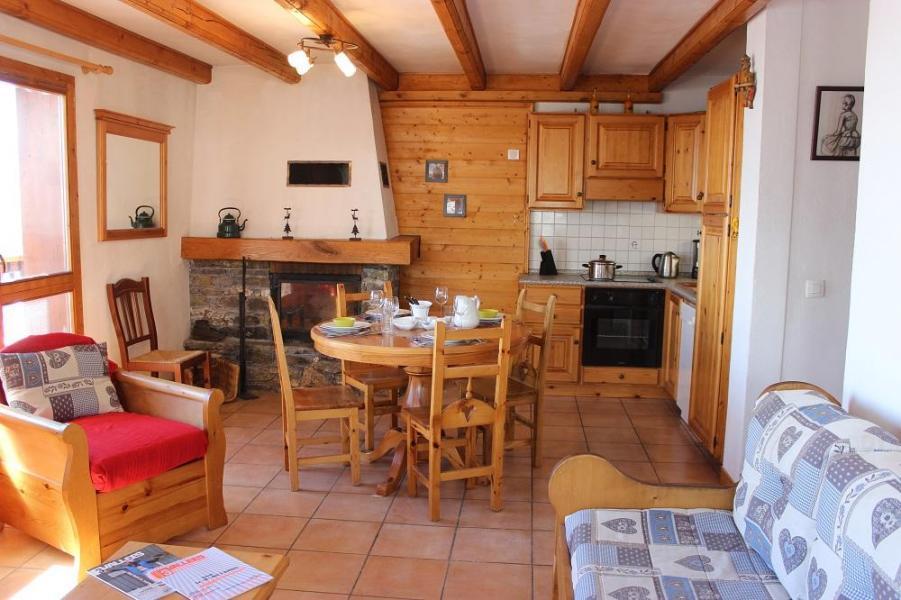 Location au ski Appartement 2 pièces 5 personnes (4) - Chalet Emeraude - Val Thorens - Cuisine