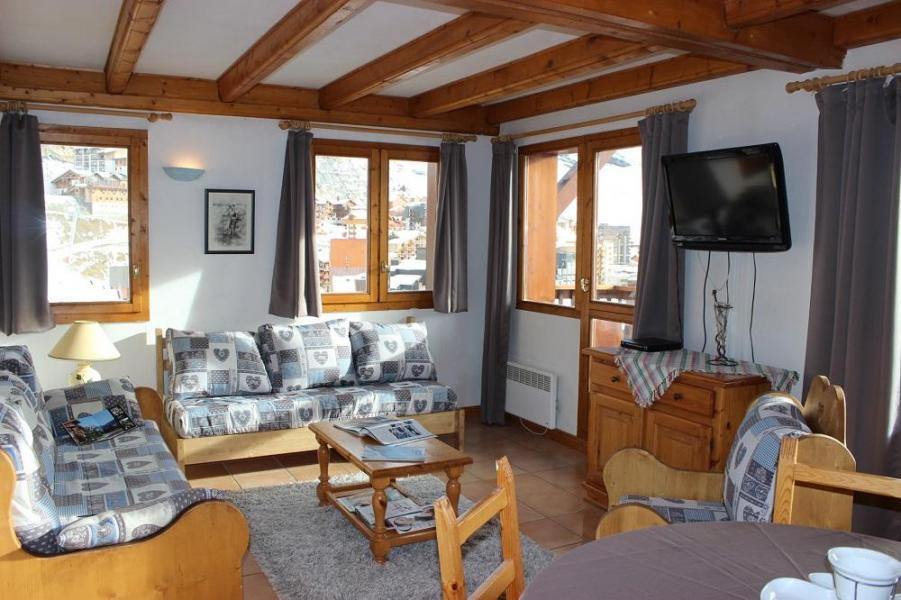 Location au ski Appartement 2 pièces 5 personnes (4) - Chalet Emeraude - Val Thorens - Séjour