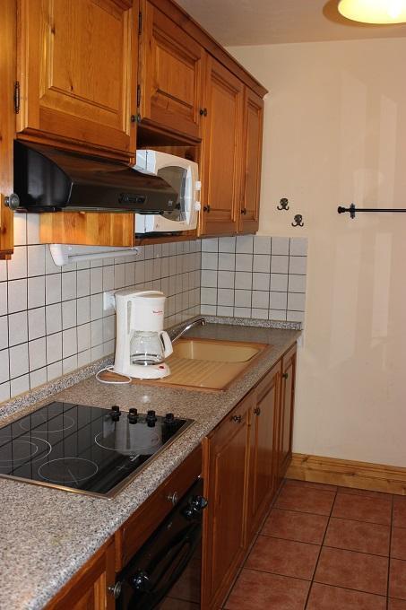 Location au ski Appartement 5 pièces 8 personnes (37) - Chalet Selaou - Val Thorens - Cuisine ouverte