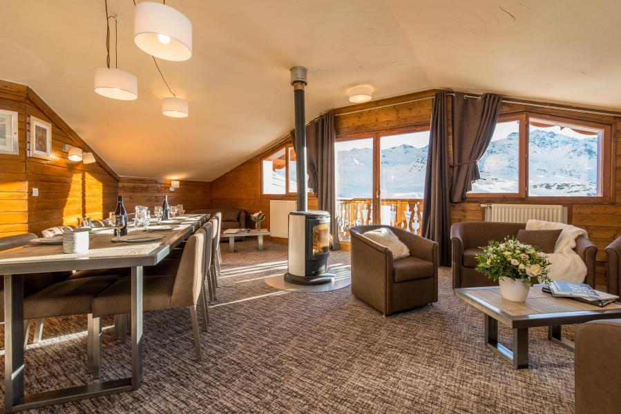Skiverleih 6 Zimmer Appartement für 10-12 Personen (Grand Confort) - Chalet Val 2400 - Val Thorens