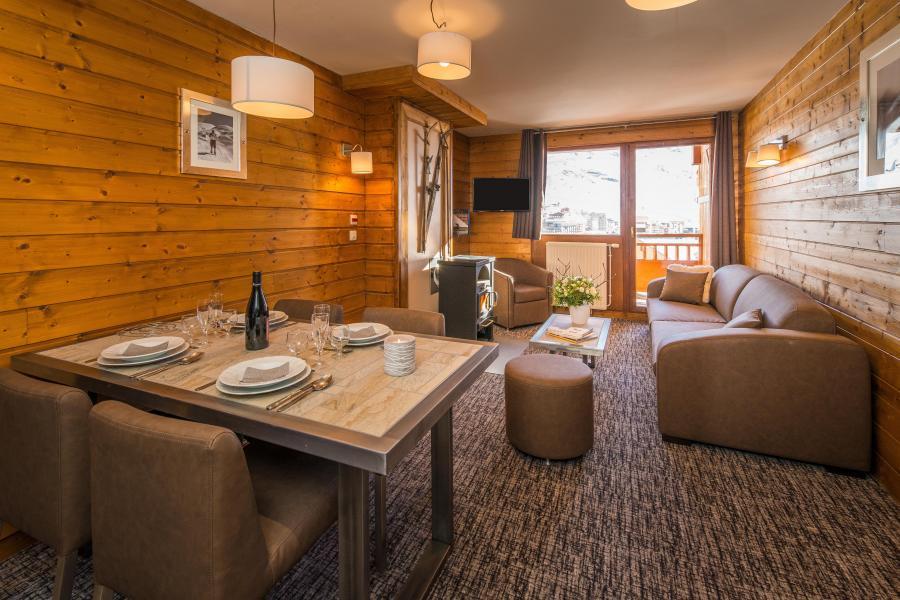 Skiverleih Komfort Wohnung 3 Zimmer 4-6 Personnen - Chalet Val 2400 - Val Thorens - Wohnzimmer