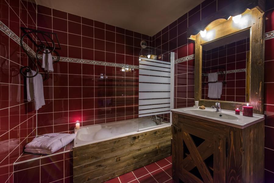 Location au ski Chalet Val 2400 - Val Thorens - Salle de bains