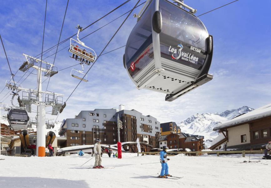 Location au ski Hôtel Club MMV les Arolles - Val Thorens - Extérieur hiver