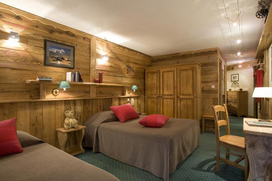 Location au ski Chambre double - Supérieure - Hôtel des 3 Vallées - Val Thorens - Lits twin