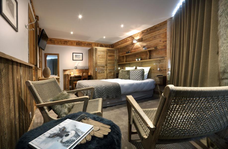 Location au ski Chambre Double/Twin (2 personnes) (Véranda Cocoon) - Hôtel des 3 Vallées - Val Thorens - Chambre