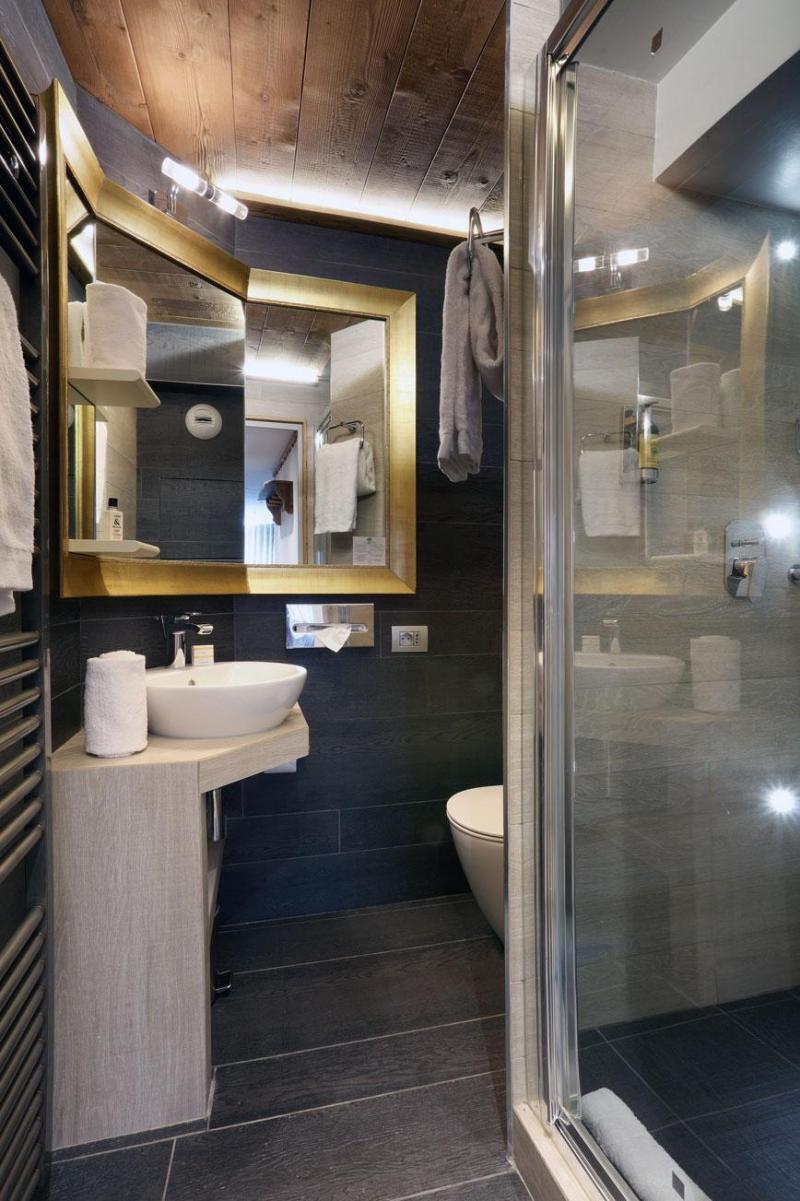 Location au ski Chambre Double/Twin (2 personnes) (Véranda Cocoon) - Hôtel des 3 Vallées - Val Thorens - Salle d'eau