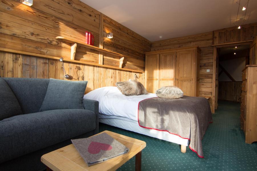 Location au ski Chambre familiale (4 personnes) - Hôtel des 3 Vallées - Val Thorens - Canapé