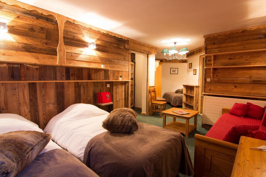 Location au ski Chambre familiale (4 personnes) - Hôtel des 3 Vallées - Val Thorens - Lits twin