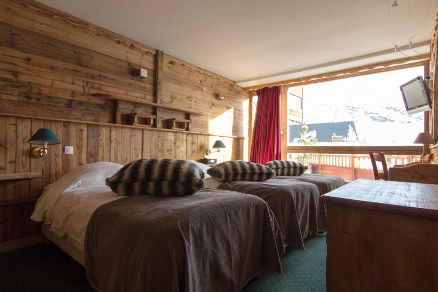 Location au ski Chambre Triple (3 personnes) (Cocoon) - Hôtel des 3 Vallées - Val Thorens - Lit double