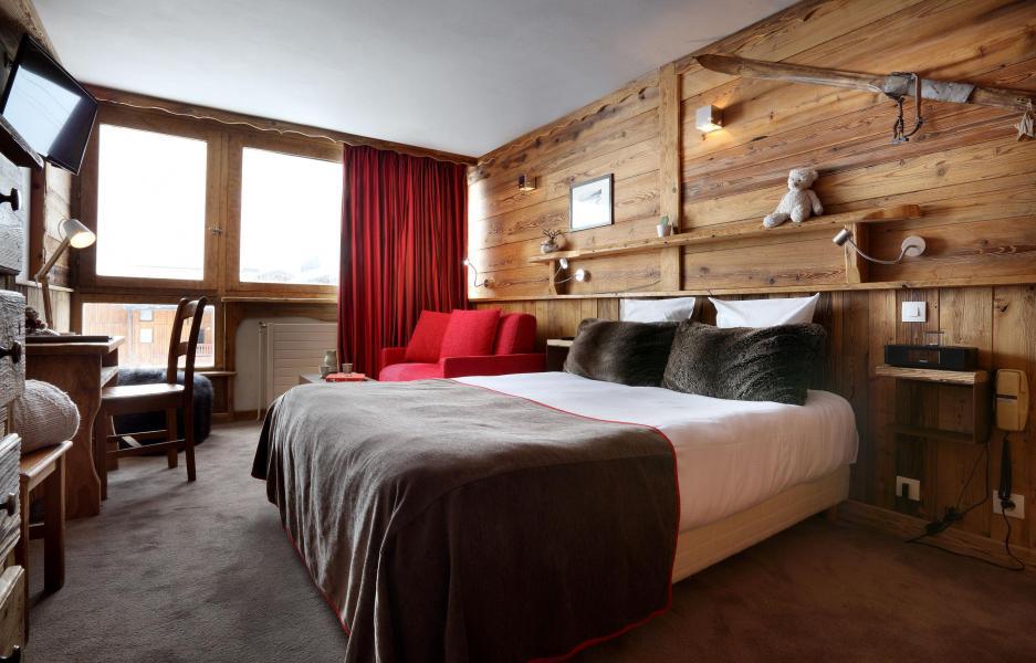 Location au ski Suite 208 (2 personnes) - Hôtel des 3 Vallées - Val Thorens - Lit double