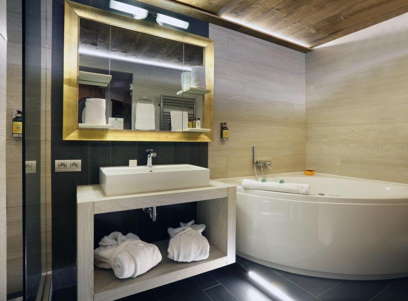 Location au ski Suite 208 (2 personnes) - Hôtel des 3 Vallées - Val Thorens - Salle de bains