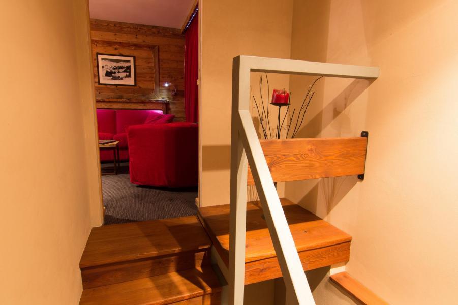 Location au ski Suite 302 (2 personnes) - Hôtel des 3 Vallées - Val Thorens - Canapé