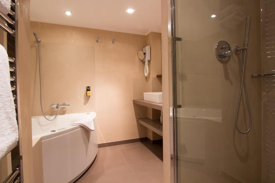 Location au ski Suite 302 (2 personnes) - Hôtel des 3 Vallées - Val Thorens - Salle de bains