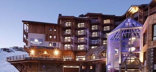 Location au ski Hôtel Koh I Nor - Val Thorens - Extérieur hiver
