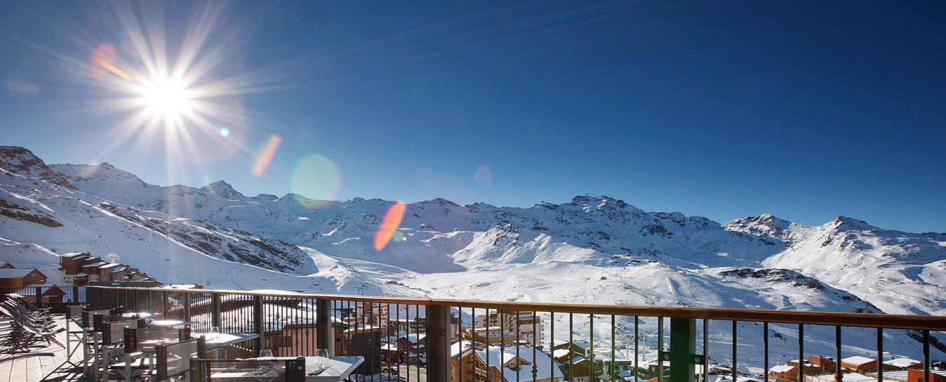 Urlaub in den Bergen Hôtel Koh I Nor - Val Thorens - Draußen im Winter