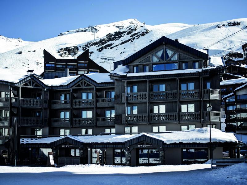 Location au ski Hôtel le Fitz Roy - Val Thorens - Extérieur hiver