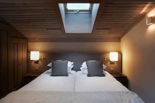 Location au ski Hôtel le Fitz Roy - Val Thorens - Chambre mansardée