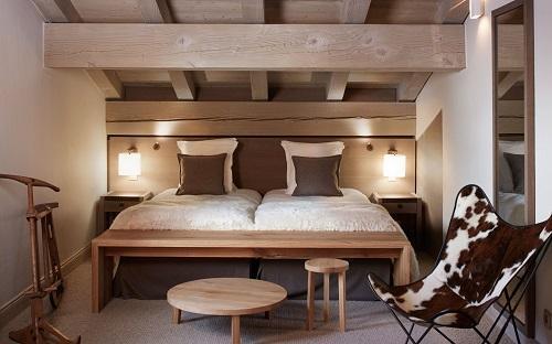 Location au ski Hôtel le Fitz Roy - Val Thorens - Chambre ouverte