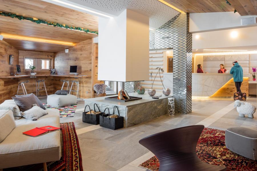Location au ski Hôtel le Pashmina - Val Thorens - Réception