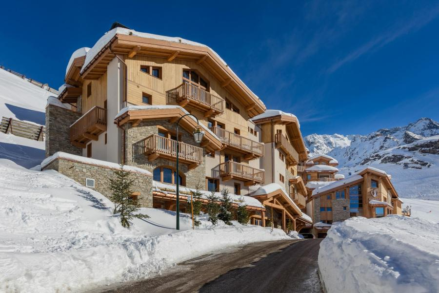 Location au ski Hôtel le Pashmina - Val Thorens - Extérieur hiver