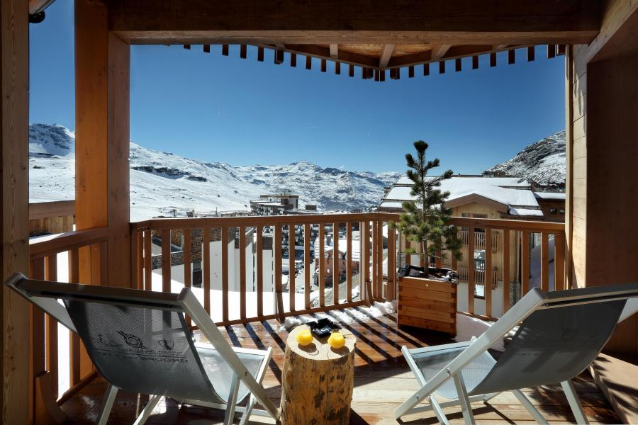 Location au ski Hôtel le Pashmina - Val Thorens - Balcon