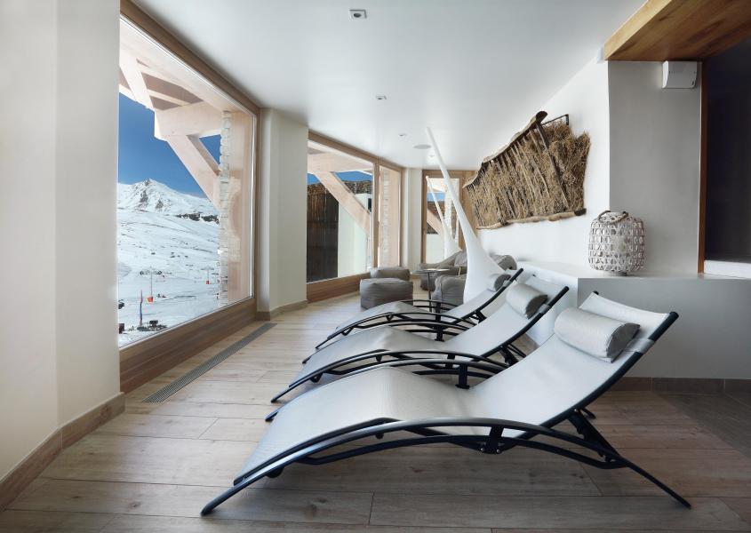 Location au ski Hôtel le Pashmina - Val Thorens - Solarium
