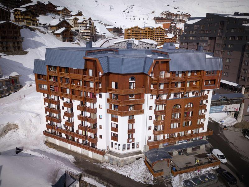 Wynajem na narty La Résidence Altineige - Val Thorens - Zima na zewnątrz