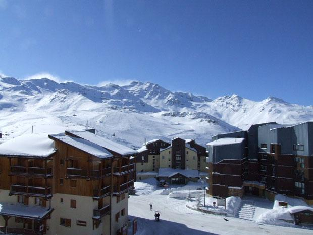 Wynajem na narty Studio 3 osoby (508) - La Résidence Altineige - Val Thorens - Stołem