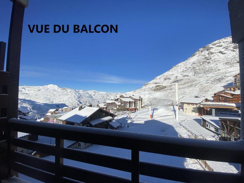 Wynajem na narty Studio kabina 4 osoby (102) - La Résidence la Reine Blanche - Val Thorens