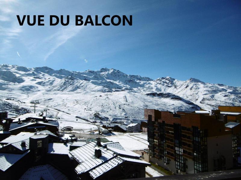 Wynajem na narty Apartament 2 pokojowy kabina 6 osób (703) - La Résidence le Lac du Lou - Val Thorens