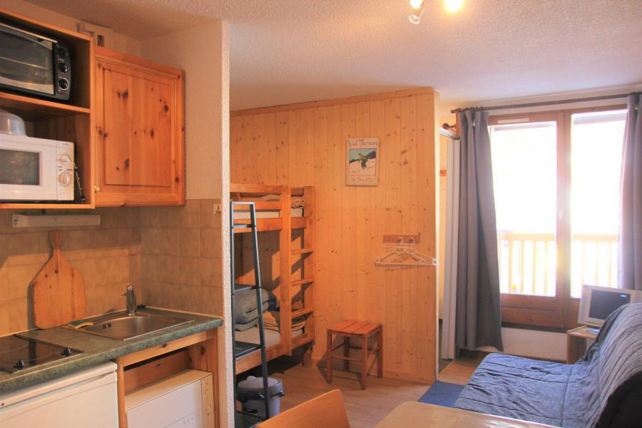 Аренда на лыжном курорте Квартира студия кабина для 4 чел. (1107) - La Résidence les Cîmes de Caron - Val Thorens
