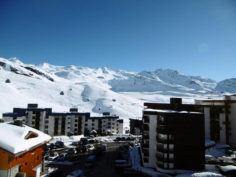Holiday in mountain resort La Résidence Sérac - Val Thorens - Winter outside