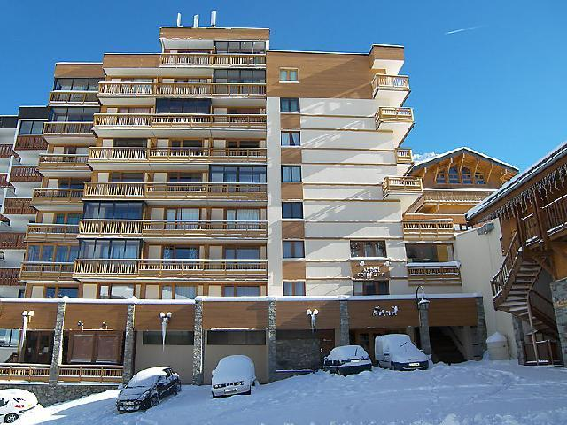 Holiday in mountain resort 1 room apartment 4 people (1) - Le Lac Blanc - Val Thorens - Winter outside