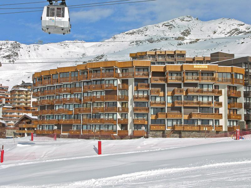 Holiday in mountain resort 3 room apartment 7 people (1) - Le Roc de Peclet - Val Thorens - Winter outside