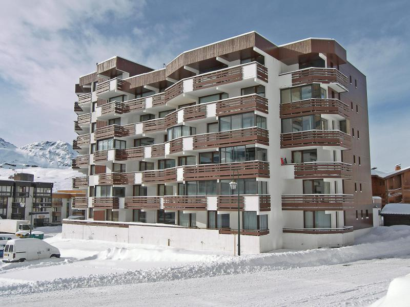 Holiday in mountain resort 1 room apartment 4 people (1) - Le Schuss - Val Thorens - Winter outside