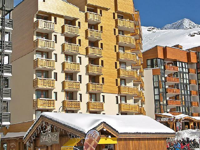 Holiday in mountain resort 1 room apartment 4 people (1) - Le Zénith - Val Thorens - Winter outside
