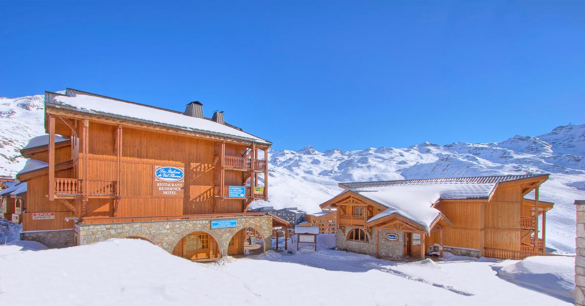 Holiday in mountain resort Les Balcons de Val Thorens - Val Thorens - Winter outside