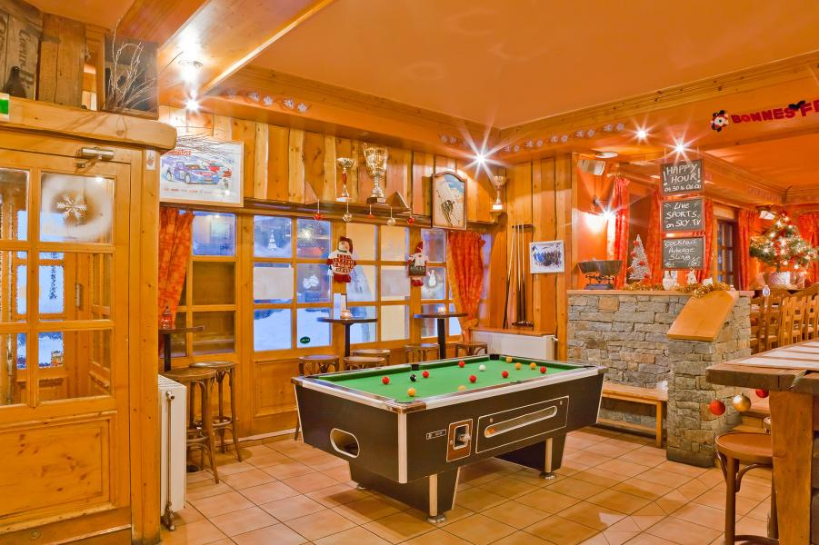 Alquiler al esquí Les Balcons de Val Thorens - Val Thorens - Billar