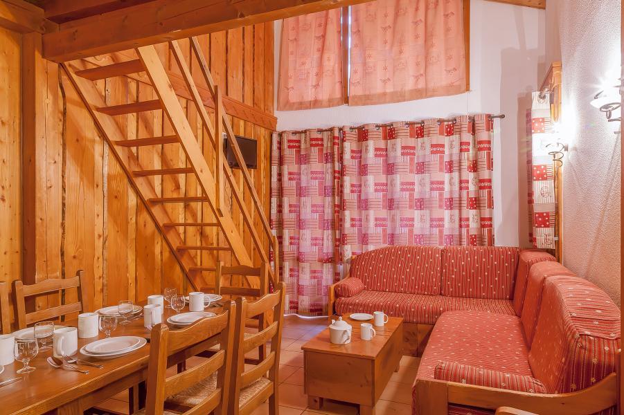 Skiverleih Les Balcons de Val Thorens - Val Thorens - Kleines Wohnzimmer