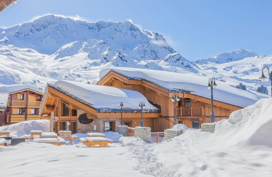 Wynajem na narty Les Balcons Platinium - Val Thorens - Zima na zewnątrz