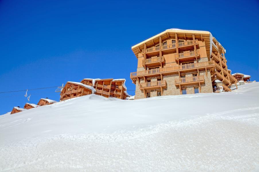 Location au ski Les Balcons Platinium - Val Thorens - Extérieur hiver