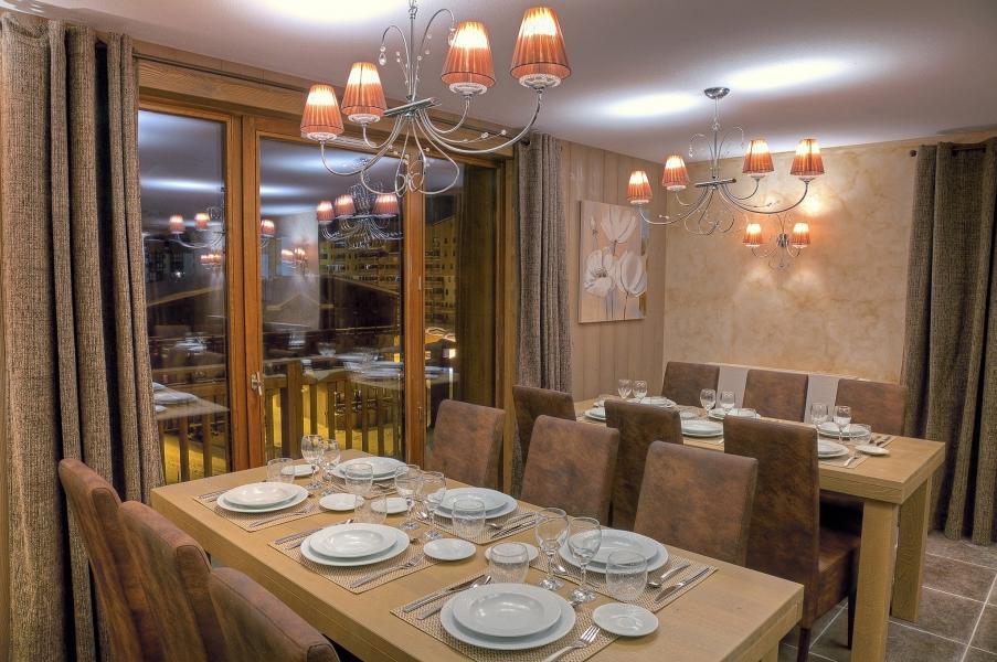 Location au ski Les Balcons Platinium - Val Thorens - Salle à manger