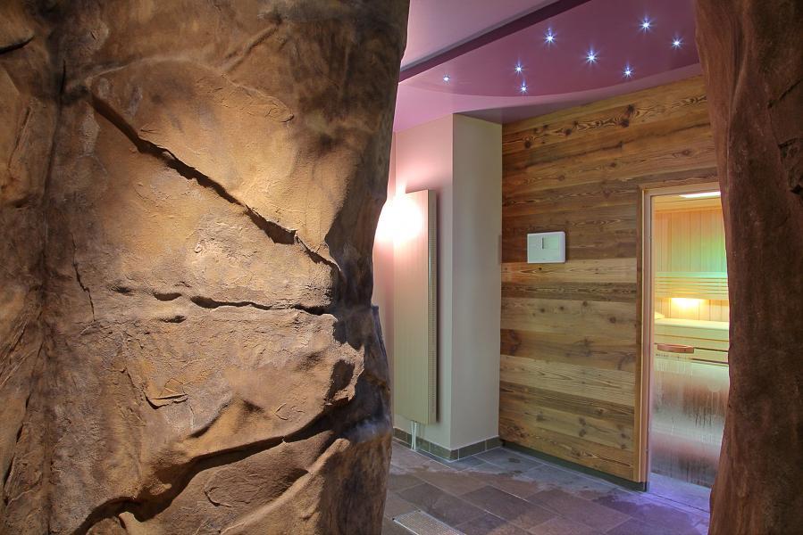 Location au ski Les Balcons Platinium - Val Thorens - Sauna