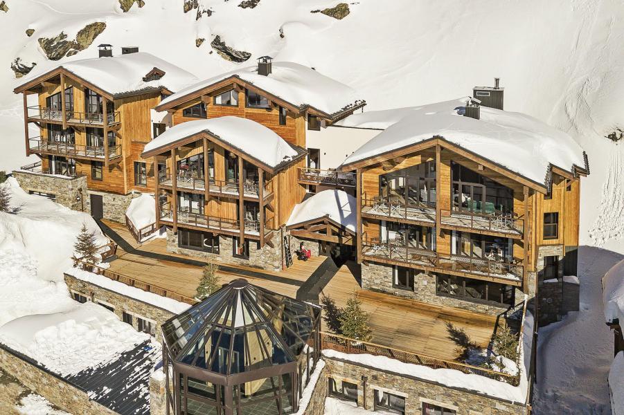 Location au ski Les Chalets du Koh-I-Nor - Val Thorens - Extérieur hiver