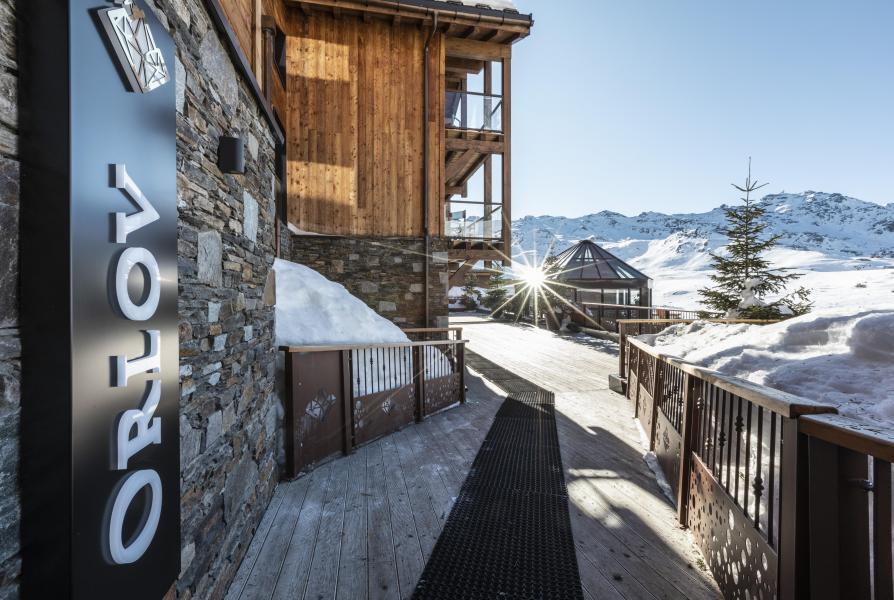 Location au ski Chalet 6 pièces 10 personnes (ORLOV) - Les Chalets du Koh-I-Nor - Val Thorens - Extérieur hiver